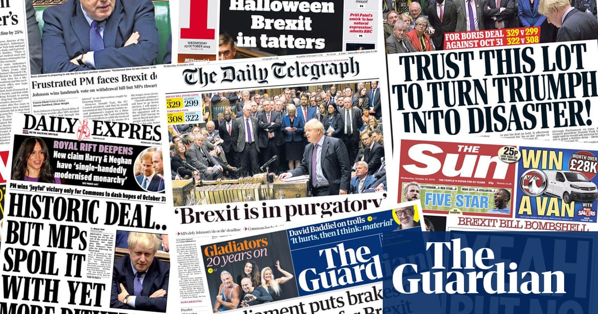 Yeah but no but: how the papers covered MPs refusal to rush through Brexit deal