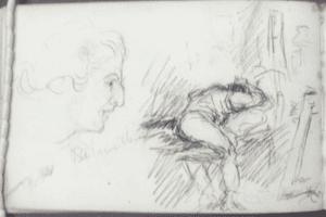 Tom Roberts' original sketch book 1883-1884