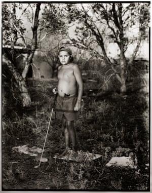 Indigenous boy 'Daniel', taken in 2015 by Matthew Abbott in Brewarrina, NSW