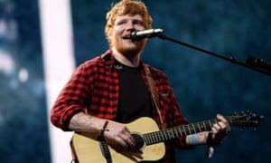 Ed Sheeran's new album Divide is smashing streaming records.