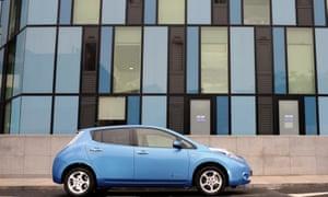Nissan Leaf car
