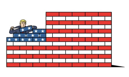 Digested - Trumps Wall digested read illustration by Matt Blease