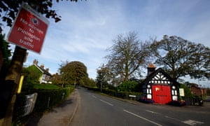 Singleton village in Lancashire, one of two site where Cuadrilla have drilled for shale gas