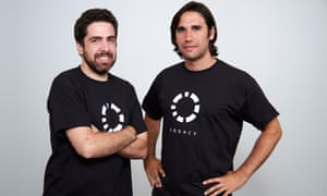 Joao Caixaria (left) and Jaime Jorge set up Codacy in 2012.