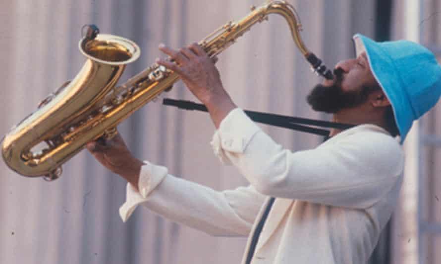 'The greatest living improviser' ... Sonny Rollins in 1960.