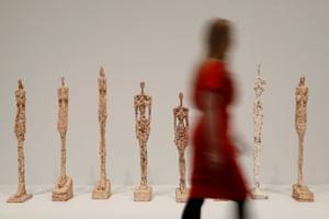 Woman of Venice by Alberto Giacometti.