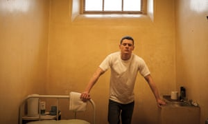 Jack O Connell in Starred Up.