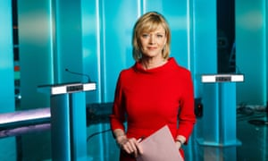 Julie Etchingham will host the ITV Leaders' Debate, a live two-hour debate programme before the General Election, which will air on Thursday. PRESS ASSOCIATION Photo. Issue date: Wednesday May 17, 2017. Photo credit should read: Mark Bruce/ITV/PA Wire NOTE TO EDITORS: This handout photo may only be used in for editorial reporting purposes for the contemporaneous illustration of events, things or the people in the image or facts mentioned in the caption. Reuse of the picture may require further permission from the copyright holder.