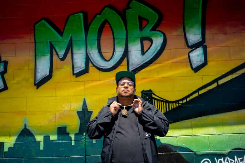 Toriano Gordon, the chef behind Vegan Mob, in Oakland.