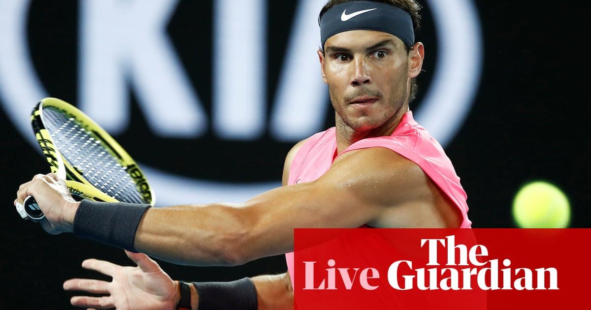 Australian Open: Kyrgios beats Simon, Nadal v Delbonis –live!