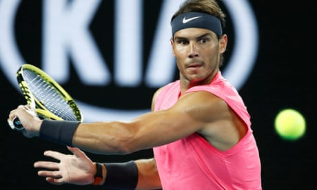 Australian Open: Nadal and Kyrgios win, Halep defeats Dart – as it happened