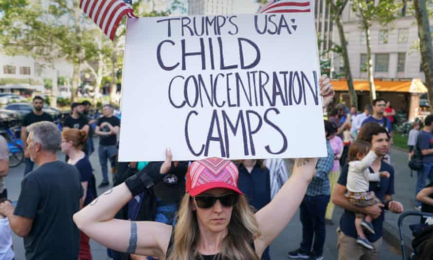 The practice of forcibly separating families has lead to widespread condemnation.