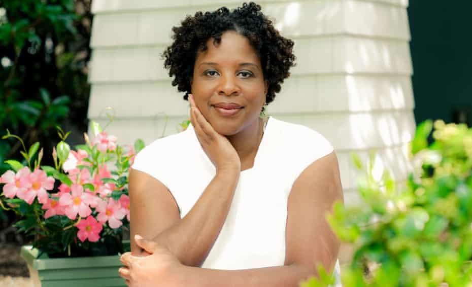 Tayari Jones, outside her home in Atlanta, Georgia