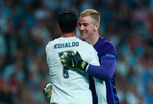 Hart sees the funny side.