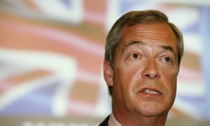 Nigel Farage: 'I shall always be grateful, eternally grateful to Obama because he came to our country, he was rude to us, he told us what we should do and he led to a big Brexit bounce of several points.'