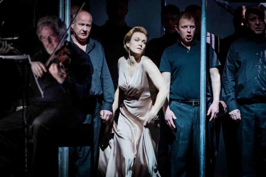 Caitlin Hulcup as Iseult in Welsh National Opera's Le Vin herbé.