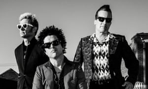'Keep riding into that sunset called the human experience' … Green Day.