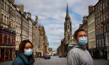 In August, Edinburgh's streets are usually teeming with people.