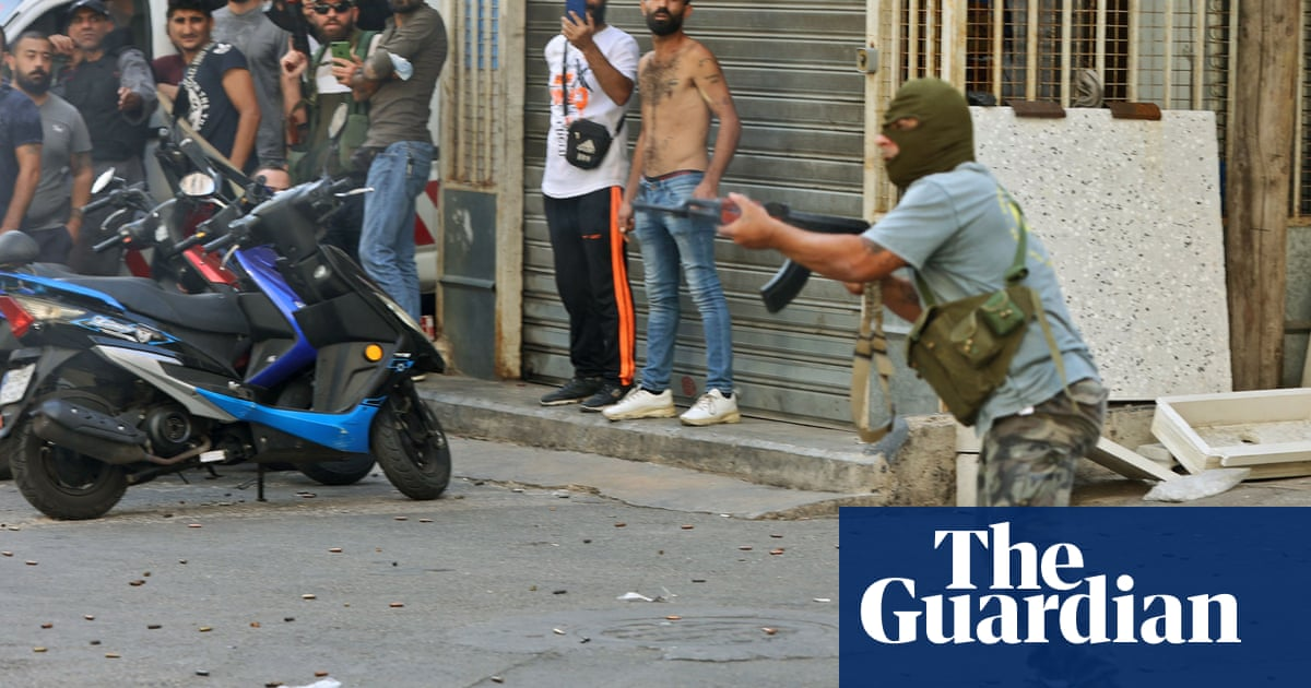 Five dead as shooting breaks out at Beirut protests over port blast inquiry