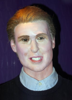 Waxwork of Prince William Louis Tussauds House of Wax Museum, Great Yarmouth, Norfolk, Britain