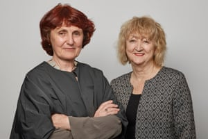 Shelley McNamara, left, and Yvonne Farrell of Grafton Architects.