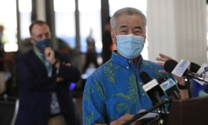 Hawaii governor David Ige wants to reduce the number of visitors to the islands.