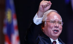 Malaysian prime minister Najib Razak has been accused of 'downright cheating' before the country's election.