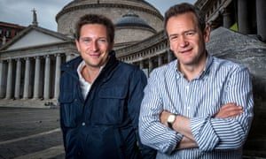 Michael Scott and Alexander Armstrong in Naples