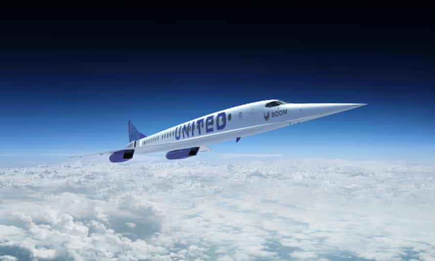 United Airlines aims to revive Concorde spirit with supersonic planes |  United Airlines | The Guardian