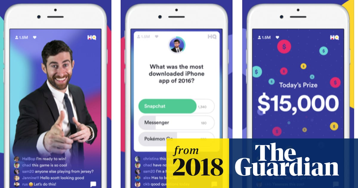 HQ Trivia: the gameshow app that's an online smash | Technology