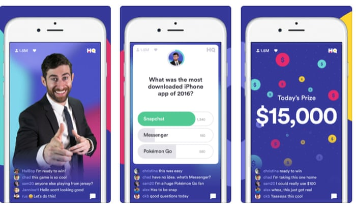 HQ Trivia: the gameshow app that's an online smash