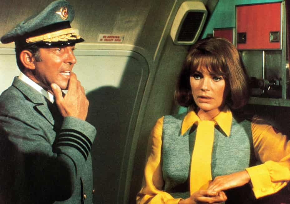Chaos in the Sky ... Dean Martin and Jacqueline Bisset in the 1970 airport thriller.