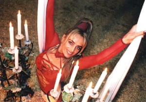 Aerialist Eva Garcia, who died after an accident at Great Yarmouth, Norfolk in 2003, was a rare fatality in Britain's circuses. Photograph: Hippodrome Circus/PA