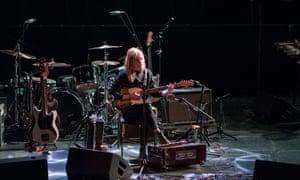 Radie Peat performing at Imagining Ireland in Galway.