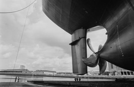 'I wanted to grab my own slice of history' … Jeremy Sutton-Hibbert's photograph of the Govan shipyard.
