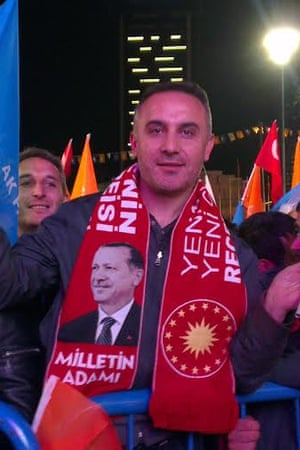 AKP supporter