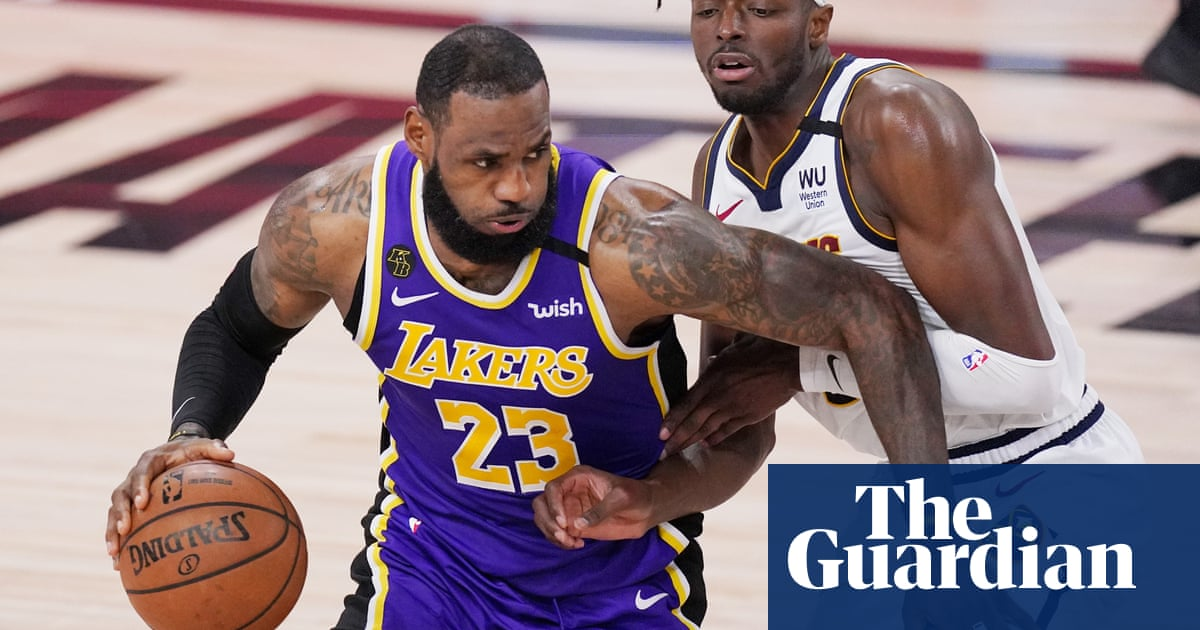 LeBrons triple-double powers LA Lakers over Nuggets into NBA finals
