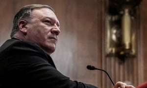 The US secretary of state, Mike Pompeo, testifying before the Senate, was told by Senator Rand Paul: 'You do not have our permission to go to war in Iran.'