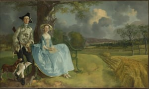Mr and Mrs Andrews, by Thomas Gainsborough.