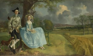 Gainsborough's early masterpiece … Mr and Mrs Andrews.