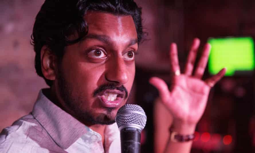 Ahir Shah at Cabaret Voltaire.