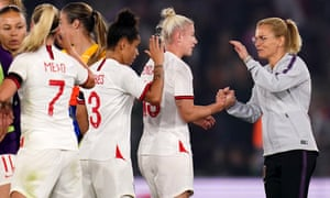England's manager Sarina Wiegman congratulated Beth England and Demi Stokes on their performances.