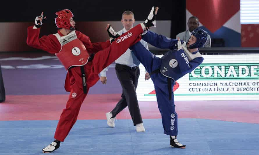 Action from the recent WTF World Cup Taekwondo Team Championships in Mexico City.