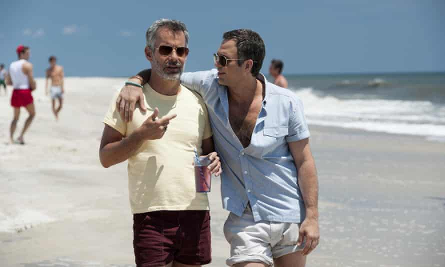 Overly moral? … Mark Ruffalo, right, with Joe Mantello in the 2014 TV adaptation of The Normal Heart.