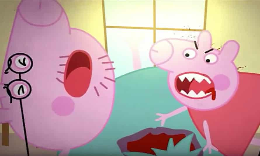 Bizarre and abusive 'kids' videos, such as parodies of Peppa Pig, have appeared on YouTube.