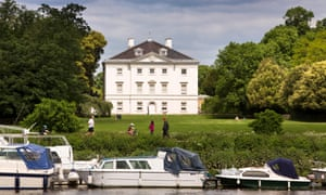Marble Hill house and grounds near Twickenham, London.