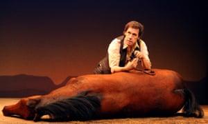Stephen Rea in Shepard's play Kicking a Dead Horse.