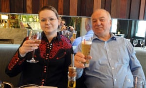 Sergei Skripal and his daughter, Yulia
