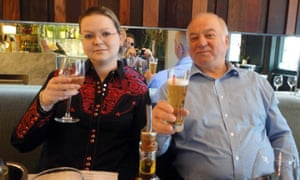 Yulia Skripal and her father Sergei