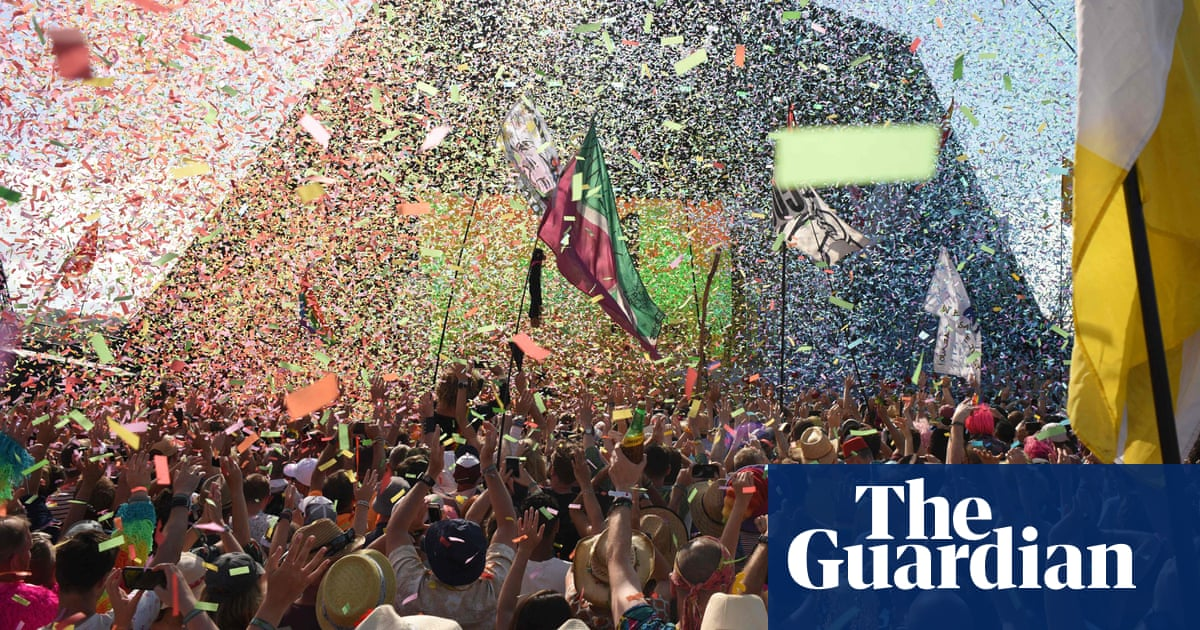Carnage, chaos, Coldplay: Glastonbury at home is a sad, brilliant reminder of real life thumbnail